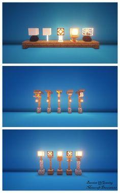 Lamps Variety (Texturepack: Default & Shaders: BSL – DetailCraft - Minecraft World