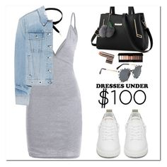 """""""Dresses Under $100"""" by oshint ❤ liked on Polyvore featuring rag & bone, Golden Goose and Laura Mercier"""
