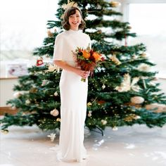 """: """"I just wanted to thank you for helping me find my dream dress! We had our wedding day in early December and I loved every second of wearing my dress. The beaded cape got so much attention! Thanks in particular to Rosie for giving me and my Mum such a fabulous experience while picking out my dress. You have great expertise in what you do and were so helpful. Thanks so much again, Laura"""" ⚡"""