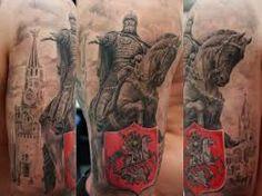 Bildresultat för георгий победоносец татуировка