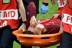 First, the French bought the referee vs Germany. Than they wanted to vanish the best Portuguese player. Portugal won Euro 2016 WITHOUT Ronaldo. France lost the final. I am for the FAIR PLAY Portugal Euro, We Are The Champions, Knee Injury, Referee, Cristiano Ronaldo, Real Madrid, Finals, Soccer, Football