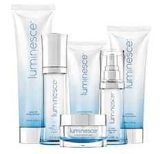 The Luminesce anti-aging skin care line restores youthful vitality and radiance to your skin, reduces the appearance of fine lines and wrinkles and reveals your unique glow. Dermatologist developed, these hydrating formulas include the exclusive, proprietary APT-200, maintaining younger, smoother, and softer looking skin.