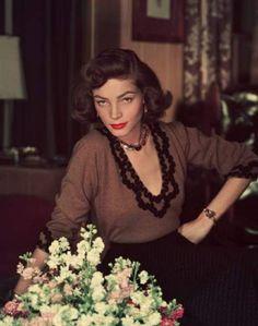 'The Look' maakte verlegen Hollywoodicoon Lauren Bacall geliefd - HLN.be