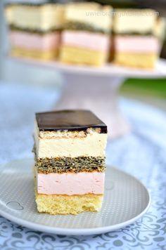 Polish Recipes, Polish Food, Cake Flavors, Sweet Desserts, Vanilla Cake, Ale, Cake Recipes, Cheesecake, Good Food