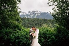 Jenny & Josh's Wonderful Whistler Wedding Beauty Magazine, Flawless Makeup, Rustic Elegance, Whistler, Bridal Beauty, Fit And Flare, Real Weddings, Real Life, Backdrops