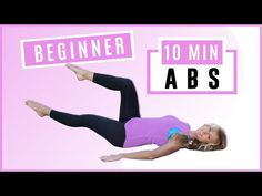 Beginner ABS workout minute toned Ab workout for women over 50 to reduce belly fat Fast and create a flat stomach.Low impact workout with no neck strai. Toned Abs Workout, Dumbbell Arm Workout, Abs Workout For Women, Toning Workouts, Simple Workouts, Treadmill Workouts, 10 Min Abs, 10 Minute Ab Workout, Lose Thigh Fat