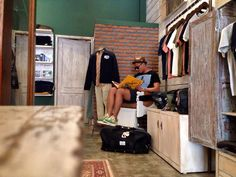 New store of Deus Ex Machina Petitenget, Bali, Indonesia