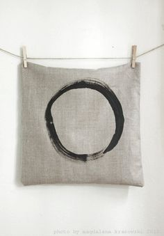 Natural Minimalistic Pillow Cover