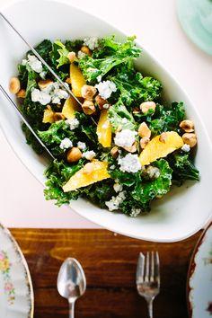 Tuesday Tastings :: Kale, Orange & Hazelnut Salad