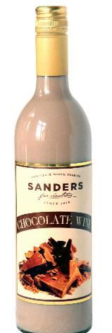 Sanders has a NEW Chocolate Wine. Meijer stores in 5 states (MI, OH, IL, KY, IN) are carrying it. It is delicious over ice in the summer months & will be a perfect Fall/winter drink. 14% alcohol.  **Item not sold on Sander's website...instore only**