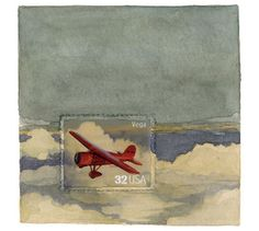 Postage Stamp Paintings