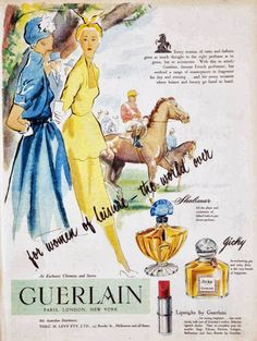 Raiders of the Lost Scent blogspot  Guerlain is arguably the most famous of all the perfume houses.