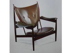 """Fellow chiefts chair"" designed 1949 by Finn Juhl, Denmark"