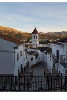 Evening in Villanueva del Trabuco, Spain