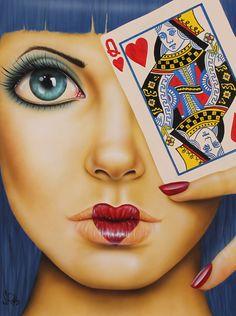 Queen of Hearts   Scott Rohlfs Art