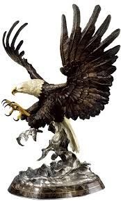 bald eagle statue - Google Search