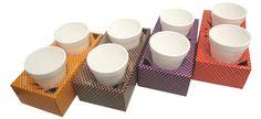 Portavasos.... Tableware, Cup Holders, Crates, Dinnerware, Tablewares, Dishes, Place Settings