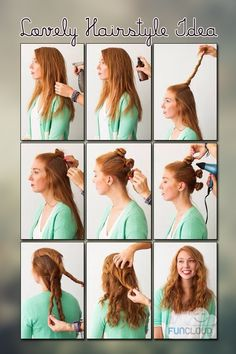 Lovely Hairstyle Idea - Tutorials des Tages 21.07.2014 | Funcloud