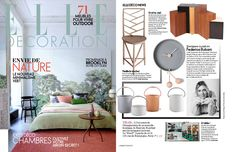 On new issue of Elle decoration France