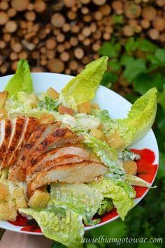 Sałatka Cezar Avocado Toast, Salads, Tacos, Mexican, Breakfast, Ethnic Recipes, Food, Recipes, Essen