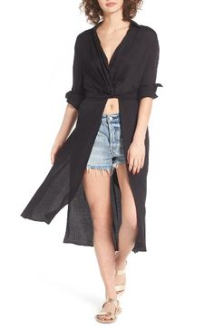 Lira Clothing Lira Clothing Onyx Wrap Top available at #Nordstrom