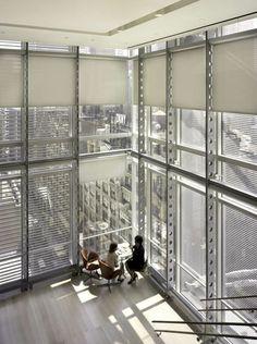 NY Times Building Interior Renzo Piano