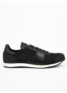 Stone Island Men's Black Reflective Mesh Sneakers