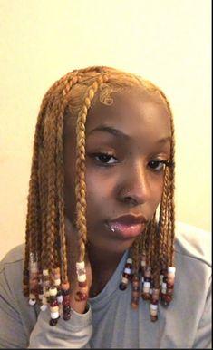 Black Girl Braided Hairstyles, Black Girl Braids, African Braids Hairstyles, Braids For Black Hair, Baddie Hairstyles, Girl Hairstyles, Curly Hair Styles, Natural Hair Styles, Dyed Natural Hair