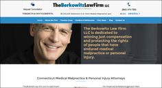 The website of Berkowitz Law Firm, LLC, a Medical Malpractice and Personal Injury Law Firm in Connecticut. http://3ringsmedia.com/berkowitz-law-firm-llc/