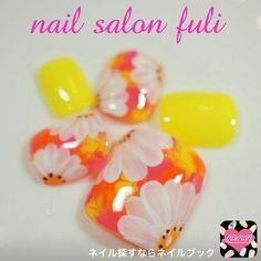 画像 Toe Nails, Summer Nails, Manicure, Nail Designs, Nail Art, Spring, Happy, Feet Nails, Summery Nails