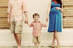 Family Maternity Shoot | Snider Shots Photography -- really like this family shot