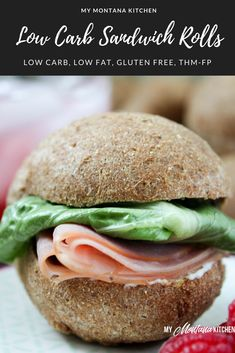 Low Carb Sandwich Ro