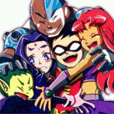 Teen Titans. So cute, omg.
