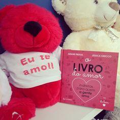 O Livro Do Amor é o presente perfeito pra mandar aquela indireta apaixonada pra quem você gosta!  #livrodoamor
