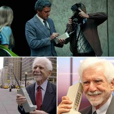 April 3, 1973 marked the first phone call from a WIRELESS phone. MARTIN COOPER. Motorola.