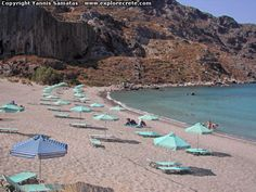 Plakias beach for naturists