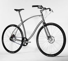 No.1 Titanium - Titanium and Steel Urban Bicycle by Paul Budnitz