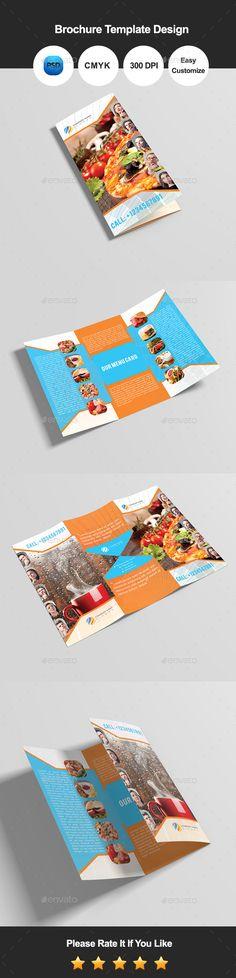 Nutrition Healthy Food \ Restaurant Brochure Healthy food, Tri - restarunt brochure
