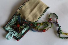 Medicine pouch Talisman pouch pouch necklace by remainewicked