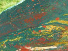 TCR Bloodstone Jasper Agate lapidary Cabbing Slab Astonishing Colors 280 Grams | eBay