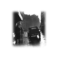 Epifanías Imagenes Editadas PNG ❤ liked on Polyvore featuring black and white, cars, blanco y negro and city