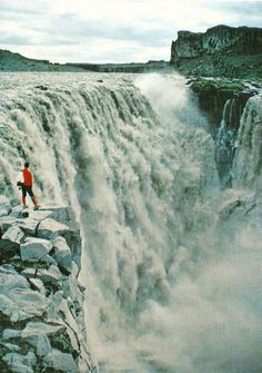 Dettifoss - Iceland - Carte postale kitsch - Collection personnelle nikedenice (167)