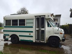 Skoolie Sound is the combination of location sound recordist Alison Grayson and her 1990 GMC Vandura mini school bus conversion, Bessie the Land Cow. Check o...