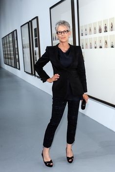 "Inspiring and Entertaining Jamie Lee Curtis: ""Fifty is a big corner to turn. It used to mean being put out to pasture, but it's the opposite with me. I feel more vibrant; I'm more active than I've ever been. The F-word really is freedom. It's the freedom to have dropped the rock—the rock of addiction, of family, of comparisons with other people. It's being fit and focused and kind of furious."" 