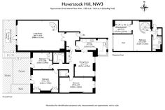 Ted Levy Maisonette Side extension in brick Flat for sale in Haverstock Hill, London, NW3 | Sandfords
