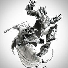 Some cool drawings of Carlyle Wilson (TMNT 2012 Animator) Tmnt 2012, Tmnt Comics, Sad Comics, Best Cartoons Ever, Cool Cartoons, Ninja Turtles Art, Teenage Mutant Ninja Turtles, Tmnt Human, Usagi Yojimbo