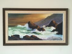 For Sale on - Big Sur Coastline, Canvas, Oil Paint by John Zaccheo. Offered by Robert Azensky Fine Art. Impressionism, Art Painting, Landscape Paintings, Fine Art, Canvas Frame, Painting, Painting Prints, Art, American Artists