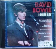 David Bowie - London Boy  (CD NEW) Very Rare CD Edition !! #ProgressiveArtRock