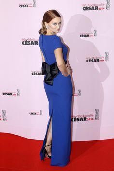 Lea Seydoux in Prada at the 2014 Cesar Film Awards