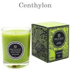 Vela perfumada de limón verde. Lime scented candle.